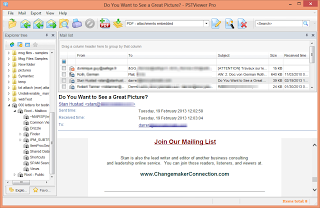 Search And Convert Outlook Emails with .Pst Viewer Software